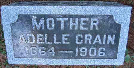 CRAIN, ADELLE - Delaware County, Ohio   ADELLE CRAIN - Ohio Gravestone Photos