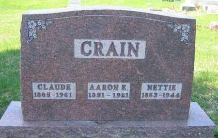 CRAIN, CLAUDE - Delaware County, Ohio | CLAUDE CRAIN - Ohio Gravestone Photos