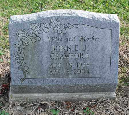 CRAWFORD, BONNIE J. - Delaware County, Ohio | BONNIE J. CRAWFORD - Ohio Gravestone Photos
