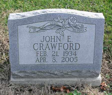 CRAWFORD, JOHN E. - Delaware County, Ohio | JOHN E. CRAWFORD - Ohio Gravestone Photos