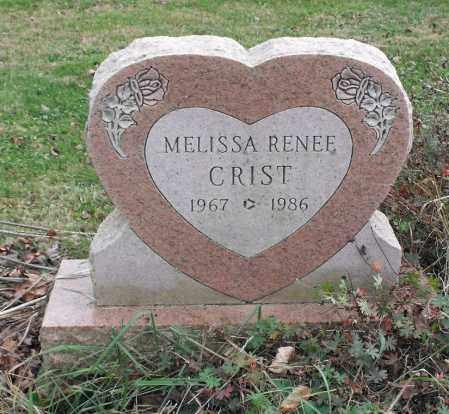 CRIST, MELISSA RENEE - Delaware County, Ohio | MELISSA RENEE CRIST - Ohio Gravestone Photos