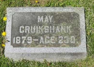 CRUIKSHANK, MAY - Delaware County, Ohio   MAY CRUIKSHANK - Ohio Gravestone Photos