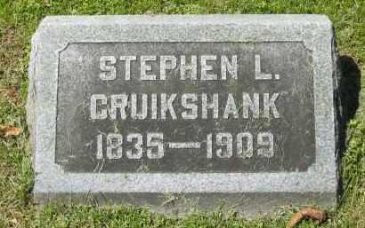 CRUIKSHANK, STEPHEN L. - Delaware County, Ohio | STEPHEN L. CRUIKSHANK - Ohio Gravestone Photos
