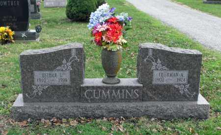 CUMMINS, THURMAN A. - Delaware County, Ohio | THURMAN A. CUMMINS - Ohio Gravestone Photos