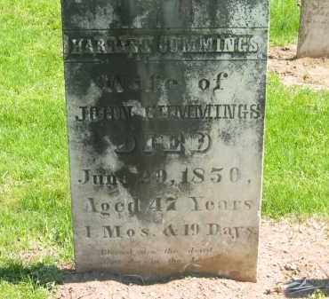 CUMMINGS, HARRIET - Delaware County, Ohio | HARRIET CUMMINGS - Ohio Gravestone Photos