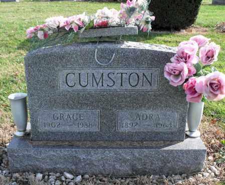 CUMSTON, ADRA - Delaware County, Ohio | ADRA CUMSTON - Ohio Gravestone Photos