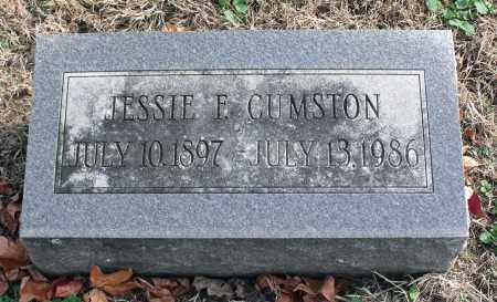 CUMSTON, JESSIE F. - Delaware County, Ohio | JESSIE F. CUMSTON - Ohio Gravestone Photos
