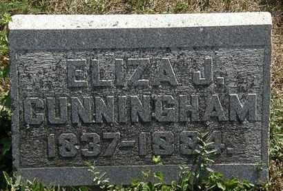 CUNNINGHAM, ELIZA J. - Delaware County, Ohio   ELIZA J. CUNNINGHAM - Ohio Gravestone Photos