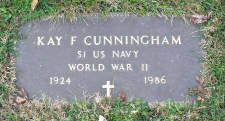 CUNNINGHAM, KAY F. - Delaware County, Ohio | KAY F. CUNNINGHAM - Ohio Gravestone Photos