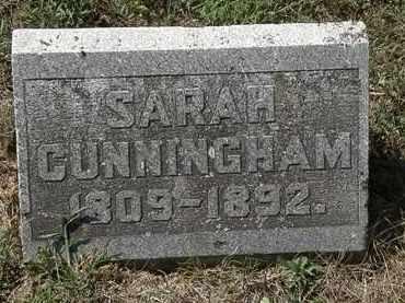 CUNNINGHAM, SARAH - Delaware County, Ohio | SARAH CUNNINGHAM - Ohio Gravestone Photos