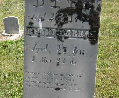 DARRAH, HENRY - Delaware County, Ohio | HENRY DARRAH - Ohio Gravestone Photos