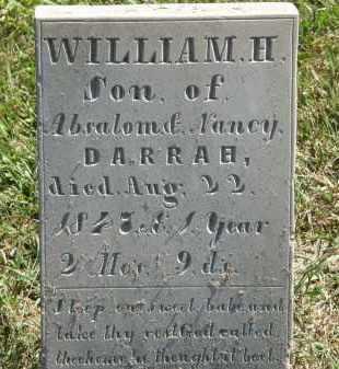 DARRAH, WILLIAM H. - Delaware County, Ohio | WILLIAM H. DARRAH - Ohio Gravestone Photos
