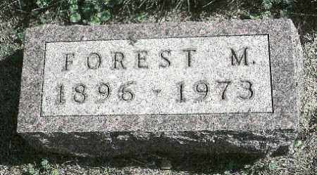 DAY, FOREST MIDDLETON - Delaware County, Ohio | FOREST MIDDLETON DAY - Ohio Gravestone Photos