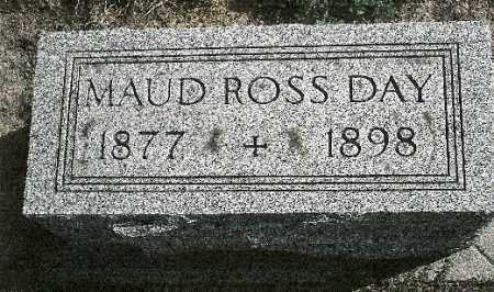 ROSS DAY, MAUD - Delaware County, Ohio | MAUD ROSS DAY - Ohio Gravestone Photos