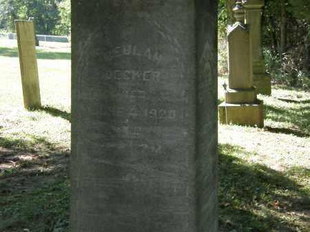 DECKER, BEULAH - Delaware County, Ohio | BEULAH DECKER - Ohio Gravestone Photos