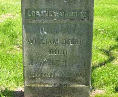DEDRICK, WILLIAM - Delaware County, Ohio | WILLIAM DEDRICK - Ohio Gravestone Photos