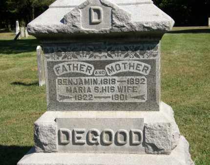 DEGOOD, MARIA S. - Delaware County, Ohio | MARIA S. DEGOOD - Ohio Gravestone Photos