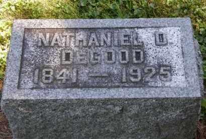DEGOOD, NATHANIEL D. - Delaware County, Ohio | NATHANIEL D. DEGOOD - Ohio Gravestone Photos