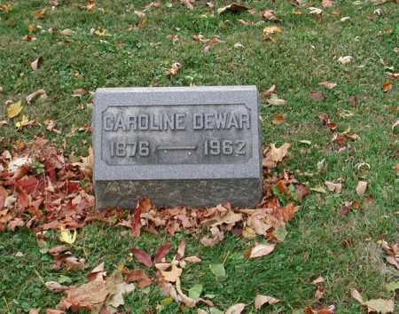 DEWAR, CAROLINE - Delaware County, Ohio | CAROLINE DEWAR - Ohio Gravestone Photos