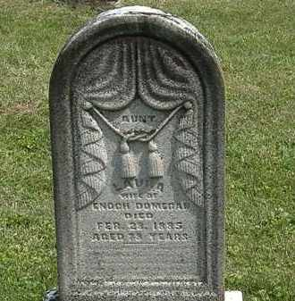 DOMIGAN, LAURA - Delaware County, Ohio | LAURA DOMIGAN - Ohio Gravestone Photos