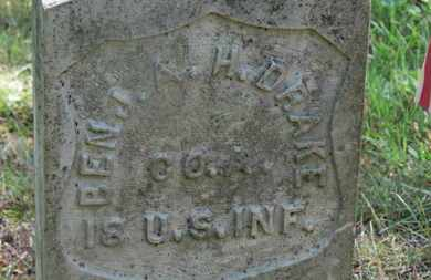 DRAKE, BENJ. A. H. - Delaware County, Ohio | BENJ. A. H. DRAKE - Ohio Gravestone Photos