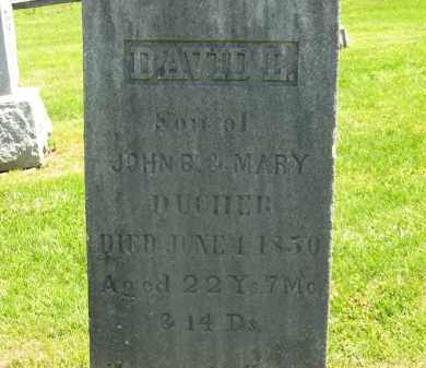 DUCHER, DAVID  L. - Delaware County, Ohio | DAVID  L. DUCHER - Ohio Gravestone Photos
