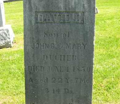 DUCHER, JOHN B. - Delaware County, Ohio | JOHN B. DUCHER - Ohio Gravestone Photos