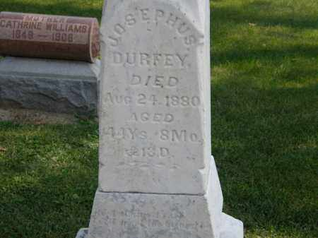DURFEY, JOSEPHUS - Delaware County, Ohio | JOSEPHUS DURFEY - Ohio Gravestone Photos
