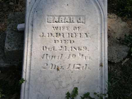DURFEY, SARAH J. - Delaware County, Ohio   SARAH J. DURFEY - Ohio Gravestone Photos