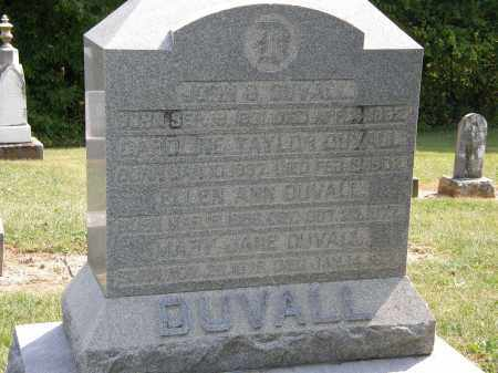 DUVALL, CAROLINE - Delaware County, Ohio | CAROLINE DUVALL - Ohio Gravestone Photos