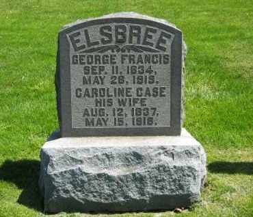 CASE ELSBREE, CAROLINE - Delaware County, Ohio | CAROLINE CASE ELSBREE - Ohio Gravestone Photos