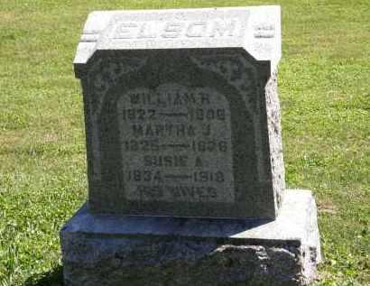 ELSOM, MARTHA J. - Delaware County, Ohio | MARTHA J. ELSOM - Ohio Gravestone Photos