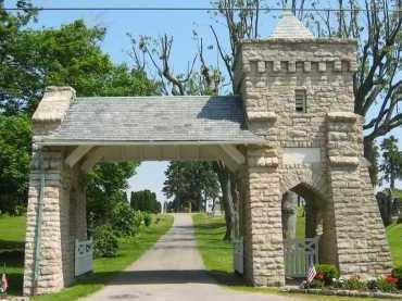 ENTRANCE, CEMETERY - Delaware County, Ohio | CEMETERY ENTRANCE - Ohio Gravestone Photos