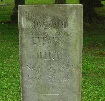 EVANS, JOSEPH - Delaware County, Ohio | JOSEPH EVANS - Ohio Gravestone Photos