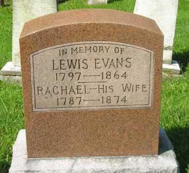 EVANS, RACHAEL - Delaware County, Ohio | RACHAEL EVANS - Ohio Gravestone Photos