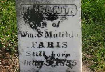 FARIS, MATILDA - Delaware County, Ohio | MATILDA FARIS - Ohio Gravestone Photos