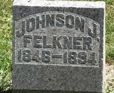 FELKNER, JOHNSON J. - Delaware County, Ohio | JOHNSON J. FELKNER - Ohio Gravestone Photos