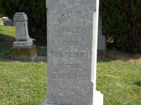 FINLEY, ANGELINE - Delaware County, Ohio | ANGELINE FINLEY - Ohio Gravestone Photos