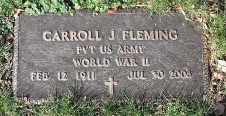 FLEMING, CARROLL J. - Delaware County, Ohio | CARROLL J. FLEMING - Ohio Gravestone Photos