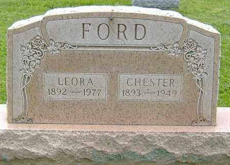 FORD, CHESTER - Delaware County, Ohio | CHESTER FORD - Ohio Gravestone Photos