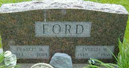 FORD, EVERETT W. - Delaware County, Ohio | EVERETT W. FORD - Ohio Gravestone Photos