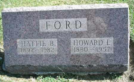 FORD, HATTIE B. - Delaware County, Ohio | HATTIE B. FORD - Ohio Gravestone Photos