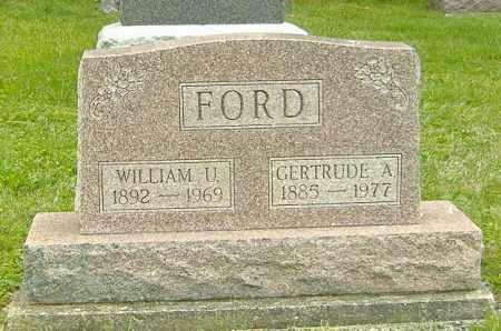 FORD, WILLIAM U. - Delaware County, Ohio | WILLIAM U. FORD - Ohio Gravestone Photos