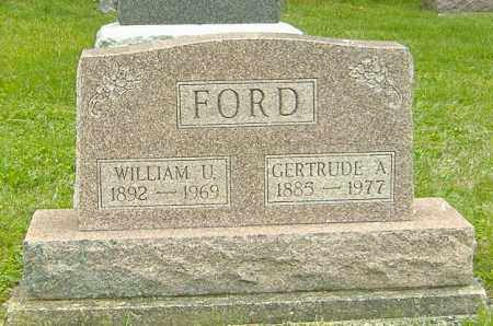 FORD, GERTRUDE A. - Delaware County, Ohio | GERTRUDE A. FORD - Ohio Gravestone Photos