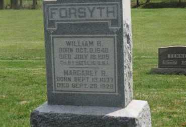 FORSYTH, MARGARET R. - Delaware County, Ohio | MARGARET R. FORSYTH - Ohio Gravestone Photos