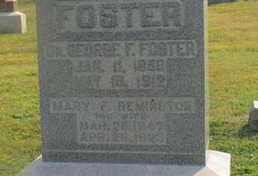 FOSTER, GEORGE F. - Delaware County, Ohio | GEORGE F. FOSTER - Ohio Gravestone Photos