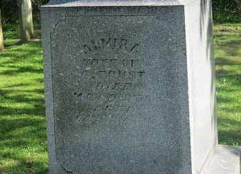 FOUST, ALMIRA - Delaware County, Ohio   ALMIRA FOUST - Ohio Gravestone Photos