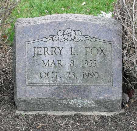 FOX, JERRY LEE - Delaware County, Ohio   JERRY LEE FOX - Ohio Gravestone Photos
