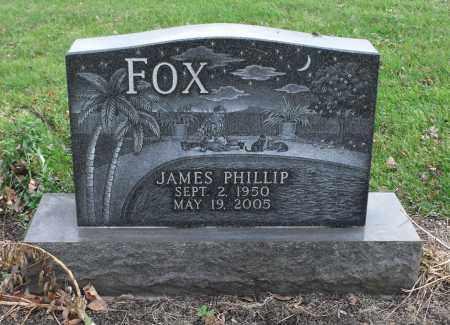 FOX, JAMES PHILLIP - Delaware County, Ohio | JAMES PHILLIP FOX - Ohio Gravestone Photos