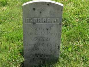 FRYE, GEORGE J. - Delaware County, Ohio   GEORGE J. FRYE - Ohio Gravestone Photos
